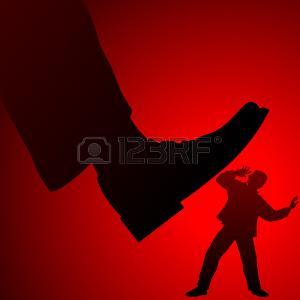 74575281-ingiustizia-sociale-di-un-sistema-statale-burocratico-di-potere-per-un-cittadino-comune-